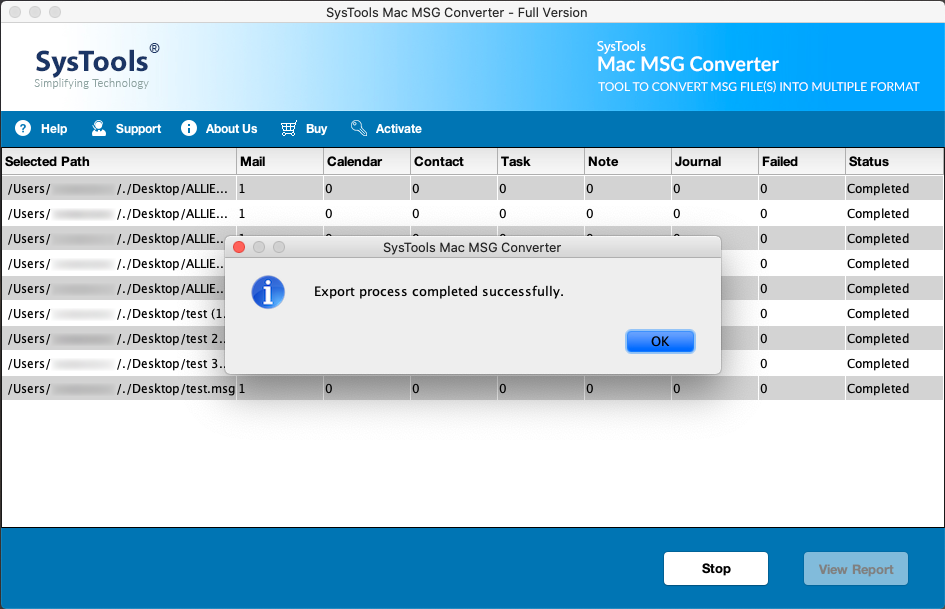 Save MSG Files to MBOX