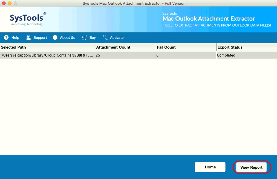 select attachment size and file type