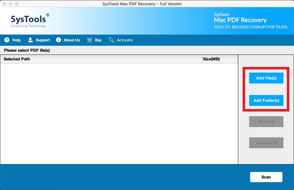 load PDFs