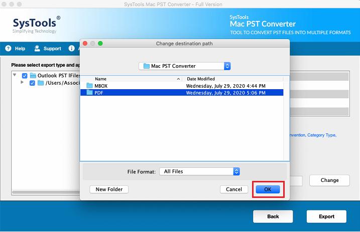 export as PDF