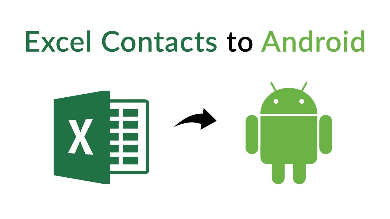 Import Contacts From Excel to Android Samsung