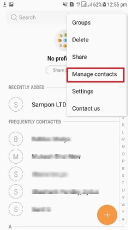 Import Contacts From Excel to Android Samsung Phone with