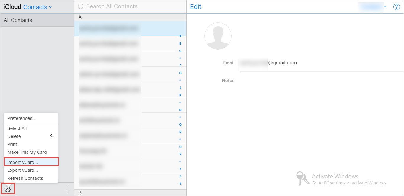 Import CSV Contacts to iCloud Using Simple Tips and Tricks