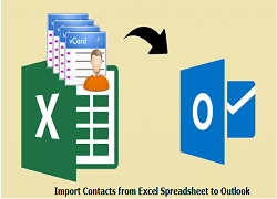 Import Contacts from Excel Spreadsheet to Outlook 2016
