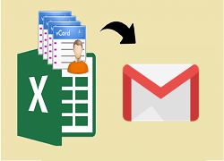Import Phone Numbers from Excel to Gmail Via CSV File in