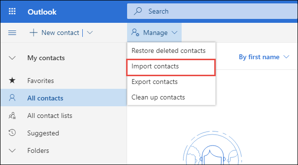 Import VCF to Hotmail – Steps to Export Vcard Contacts to