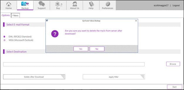Delete All Yahoo Mail at Once with Safety – How to Tutorial