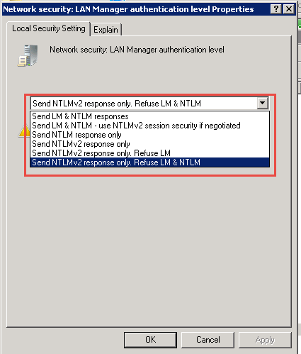 Outlook is Prompting For Password to Connect to MS Exchange