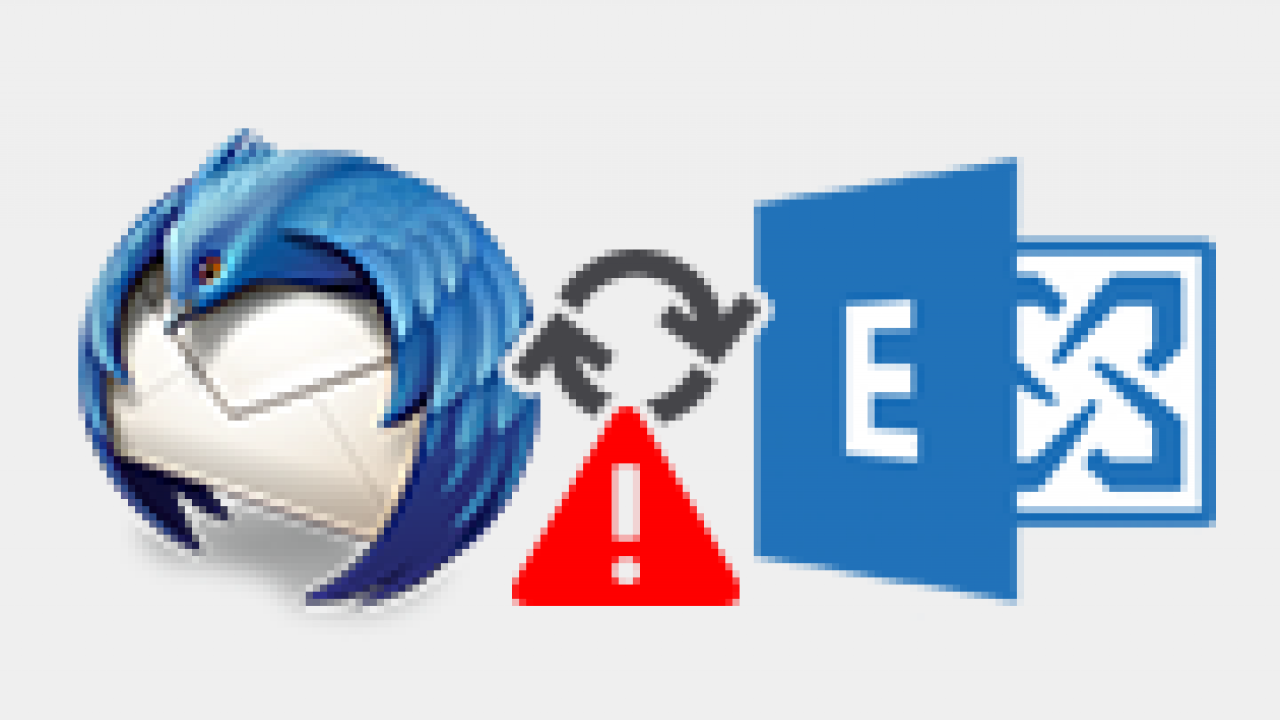 Fix Thunderbird Failed to Connect to Exchange Server with