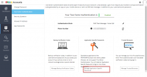 zoho two-step authentication