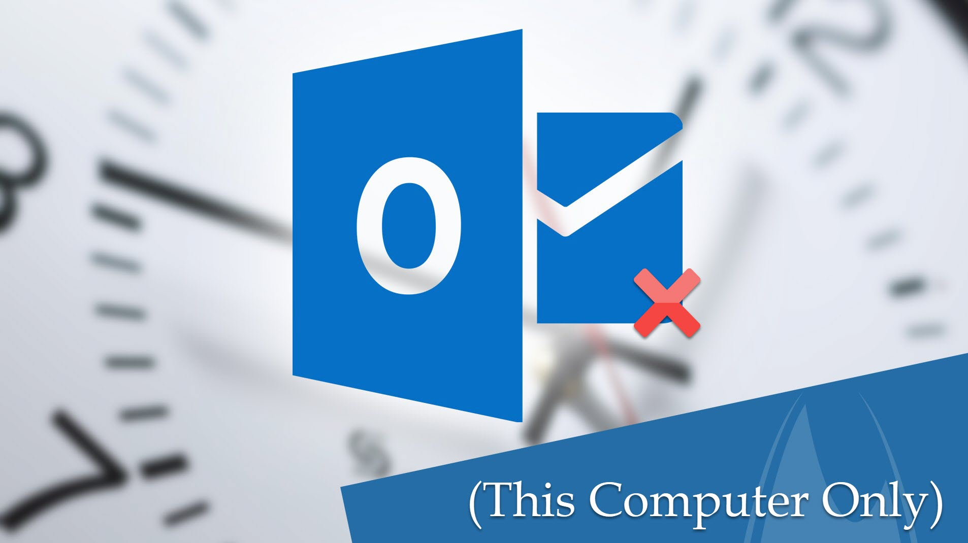 Fix Outlook IMAP Folders, Inbox , Sent Items(This Computer