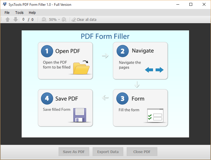 PDF Cannot Save Form Information or Can Only Save Blank Copy