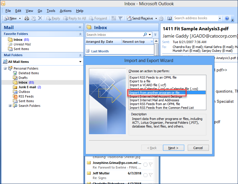 How to Import PST to OST Outlook 2016, 2013, 2010, 2007