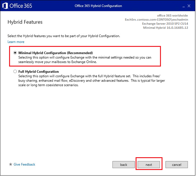 Migrate from Hosted Exchange 2013, 2010, 2007 to Office 365
