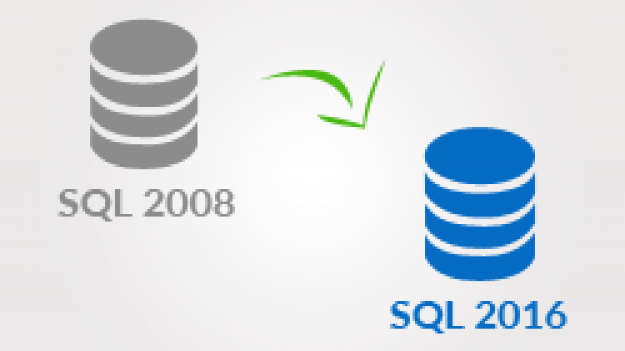 Quick Guide: How to Upgrade SQL Server 2008 to 2016 - Step