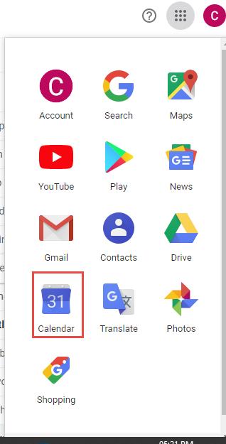 Select Calendar Application