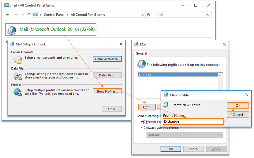 How to Manually Connect Office 365 to Outlook 2016 /2013 /2010 /2007