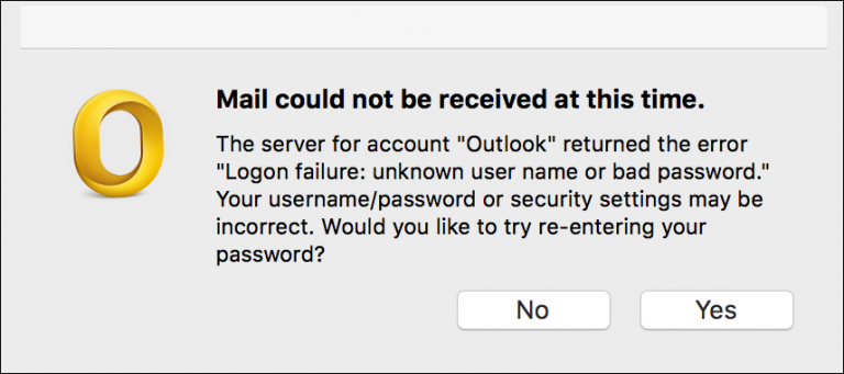 Tips to Fix Outlook 2016 For Mac Keeps Asking For Password