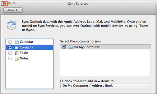 Beginners Guide to Sync Outlook 2011 Contacts With Mac