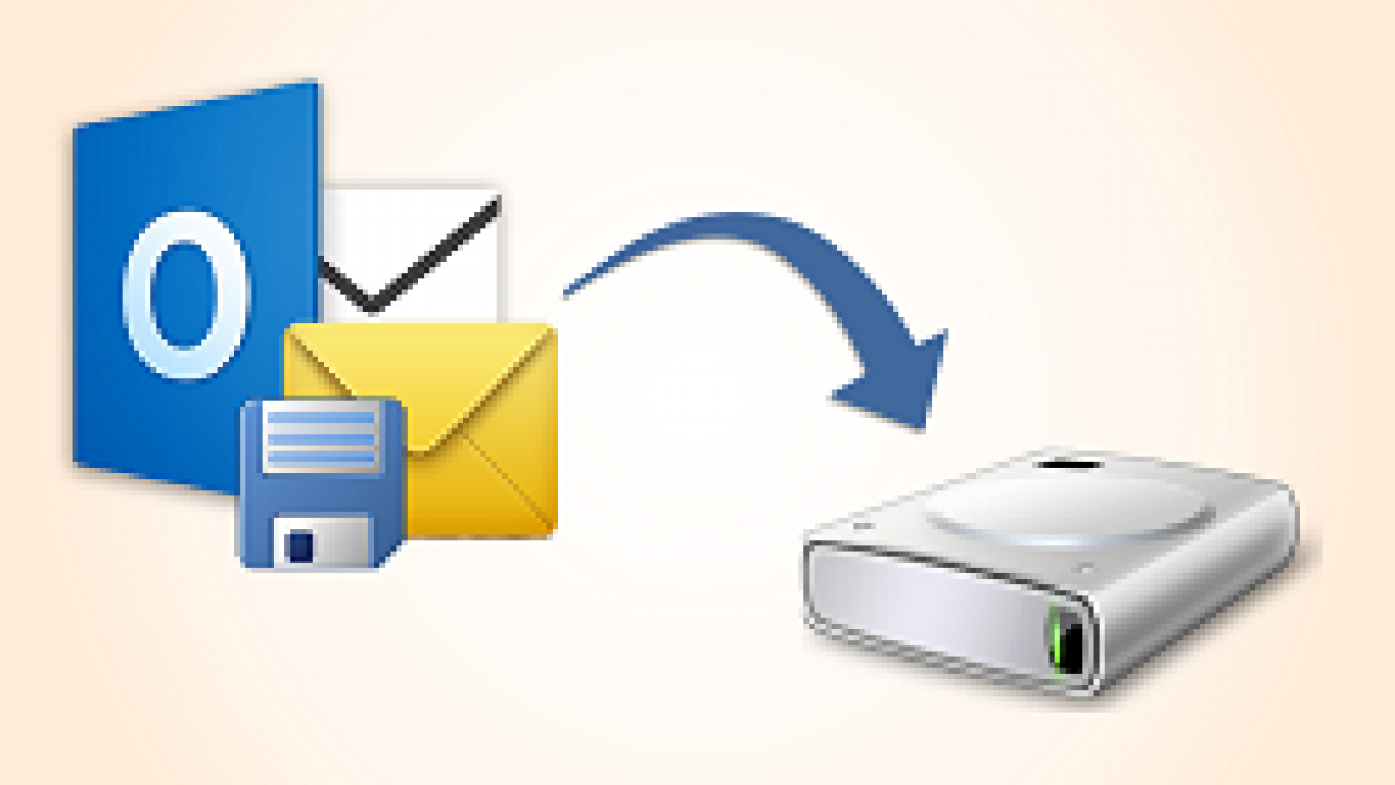 Save Outlook Emails to Hard Drive With Attachments in