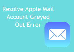 Apple Mail Messages Greyed Out