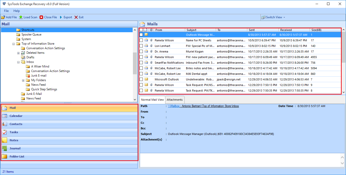 Restore & Recover Deleted Mailbox In Exchange 2013 / 2010 Environment