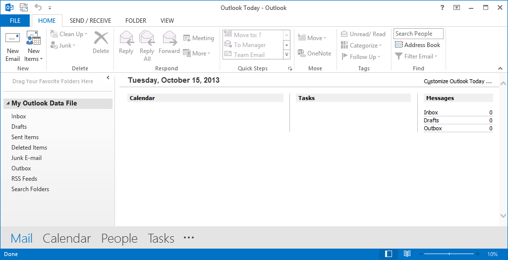 Import PST To Yahoo From Outlook 2016 / 2013 / 2010 By A