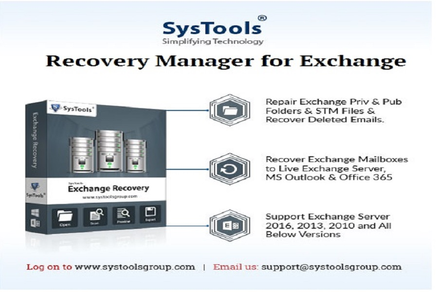 Recovery Manager For Exchange Database