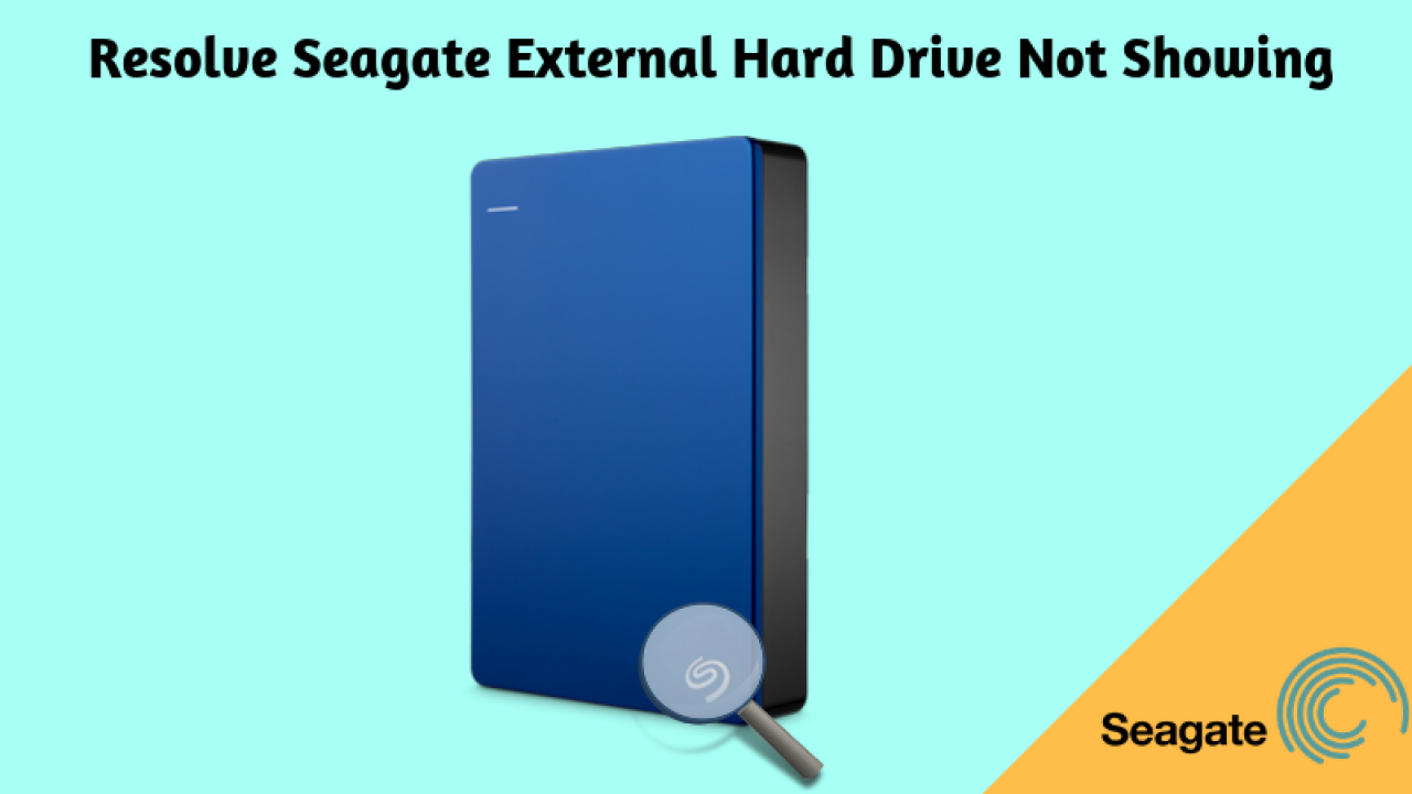 Why is My Seagate External Hard Drive Not Being Recognized