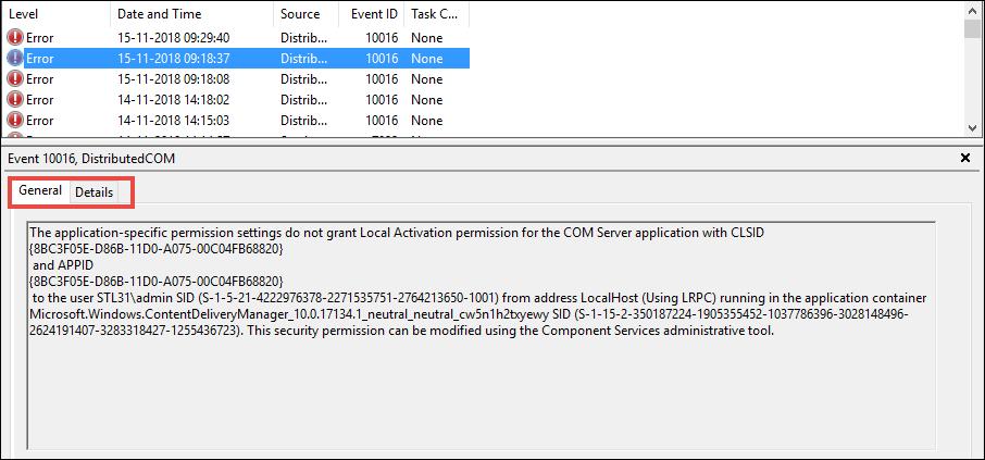 Windows Event Viewer to View Crash Log Error in Windows 10