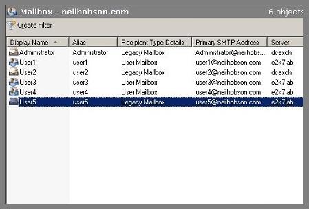 Legacy Mailbox