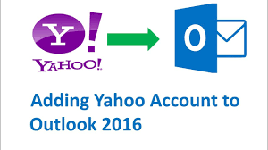 how to add yahoo email to outlook