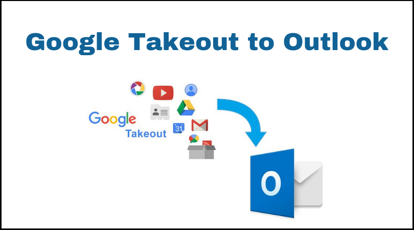 Google Takeout to Outlook