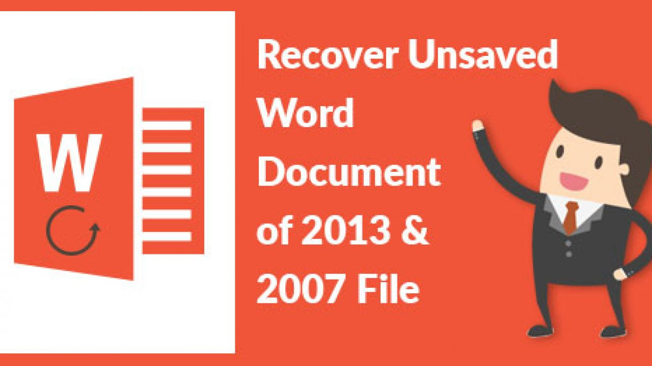 How to Recover Unsaved Word Documents in Windows 10?