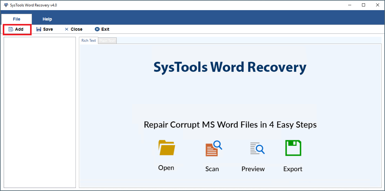 Recover Previous Version of Word Document File of 2016