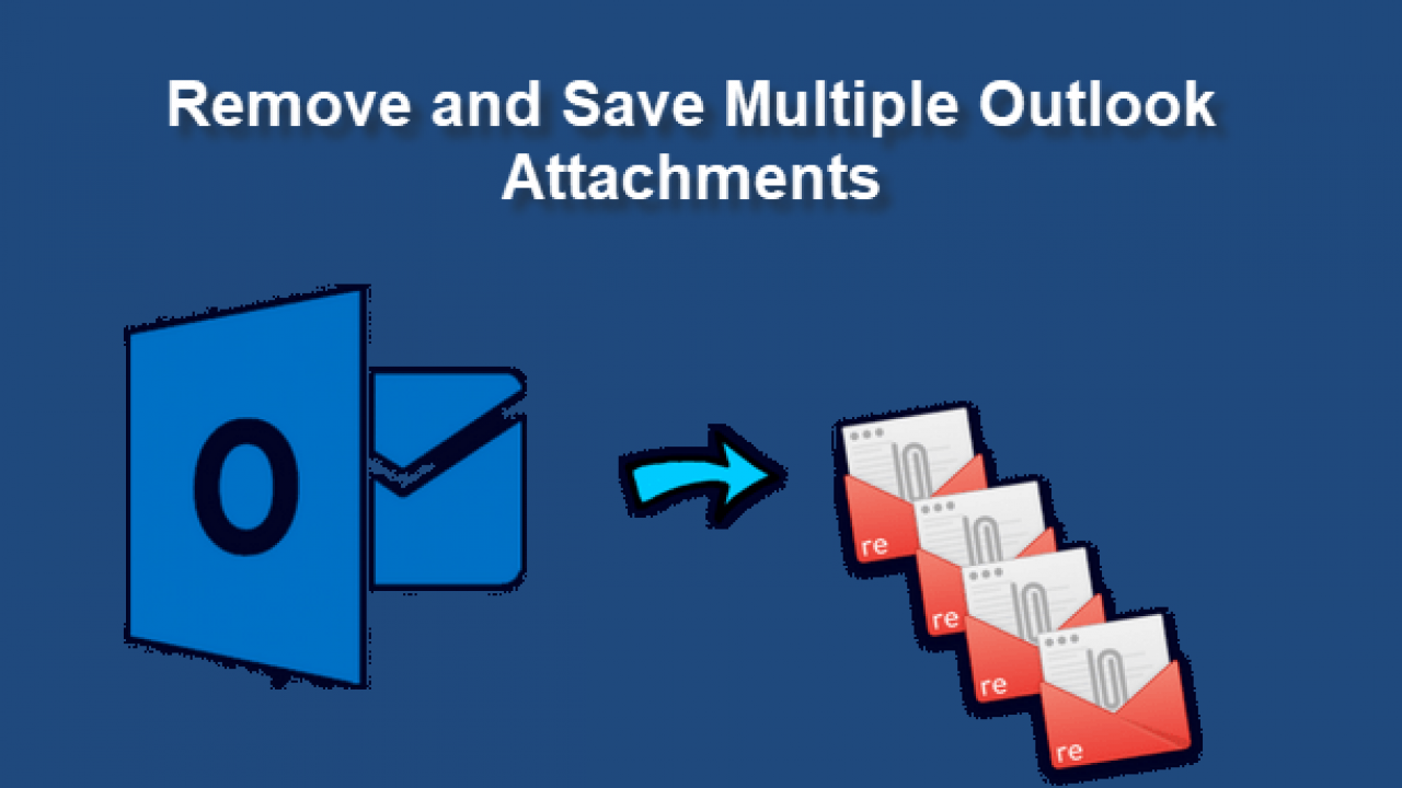 Bulk Save Attachments from Multiple Emails in Outlook 2016