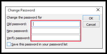 Remove Password from PST File Using Command Prompt & Outlook