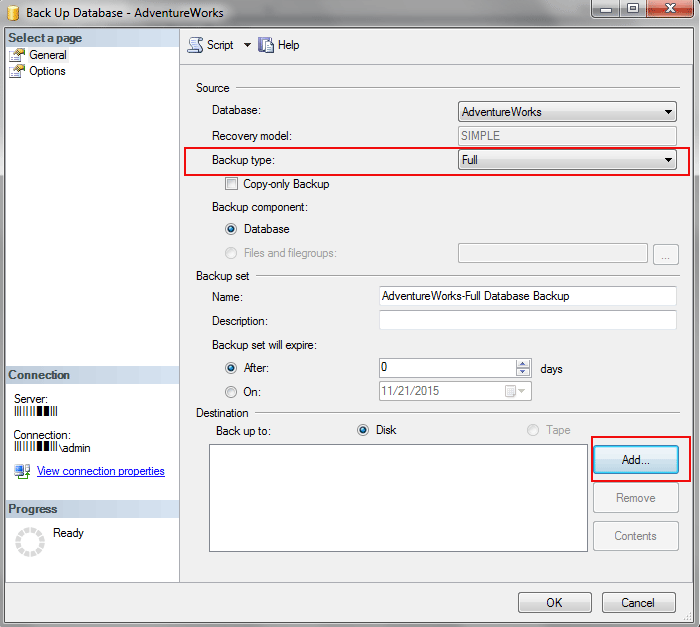 Backup And Restore Database In SQL Server Step By Step - How To
