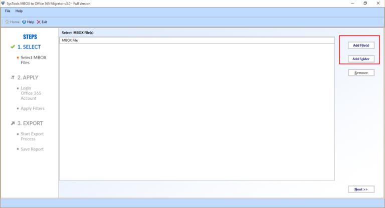 add file(s) or folder in migrator