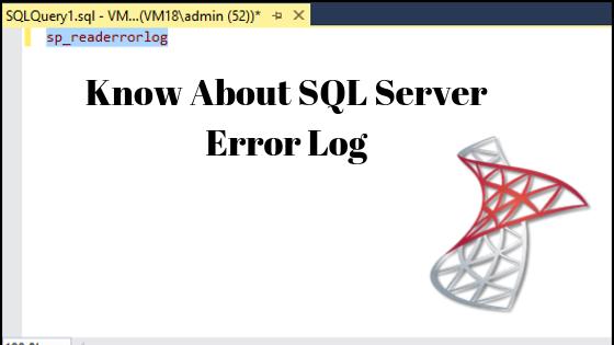 What is SQL Error Log File