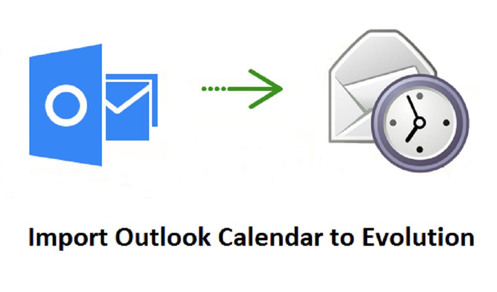 Import Outlook Calendar to Evolution