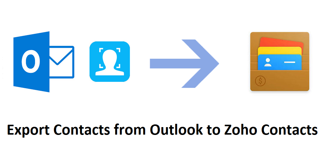 Export Contacts from Outlook to Zoho Contacts