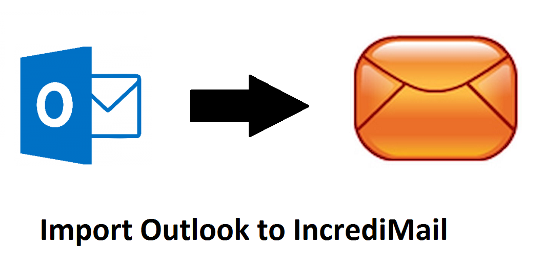 Import Outlook to IncrediMail