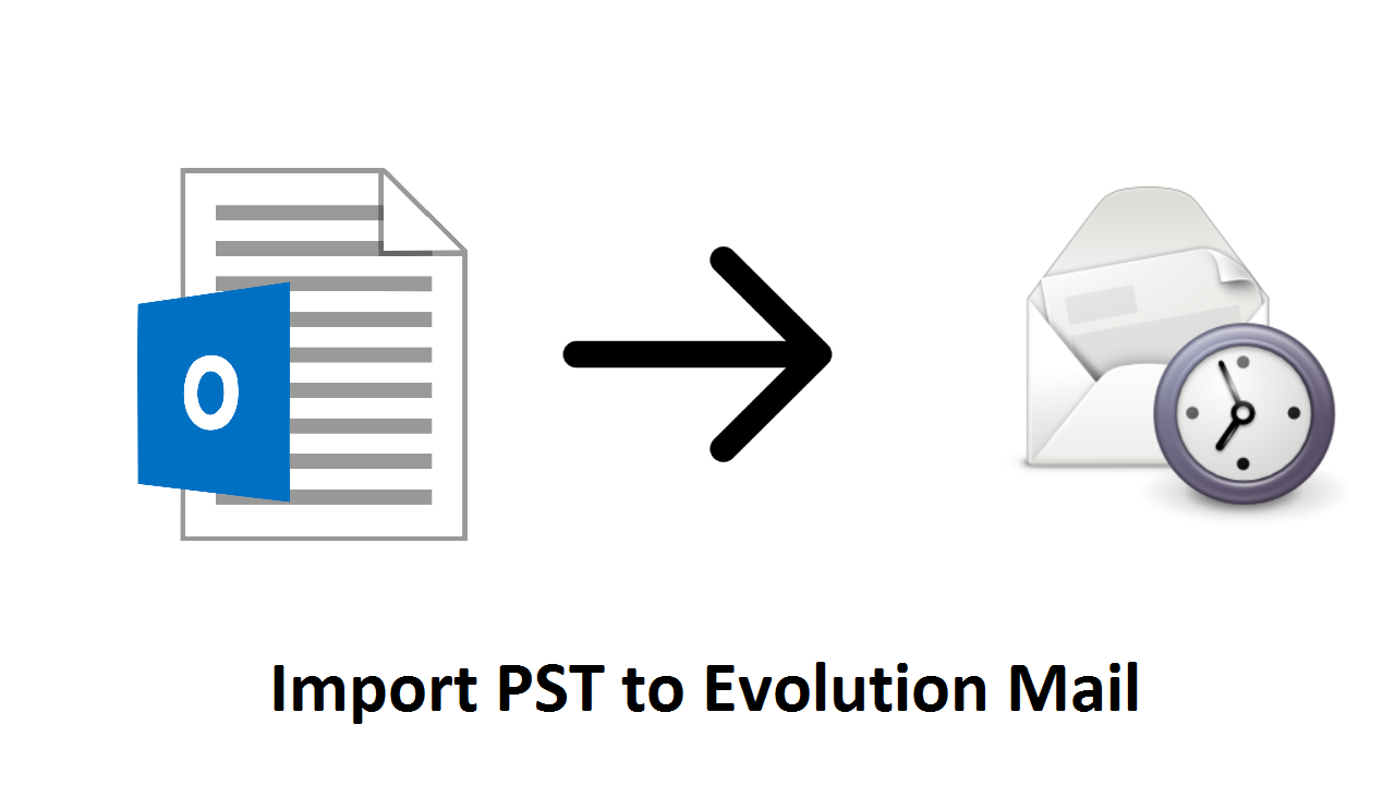 import pst to evolution mail