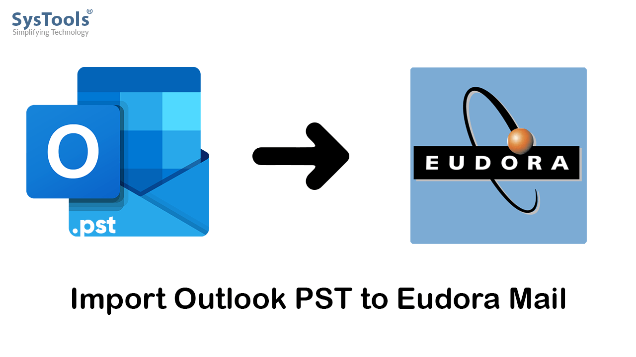 import outlook pst to eudora mail
