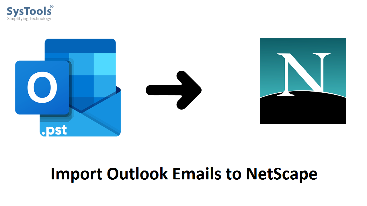 import outlook emails to netscape